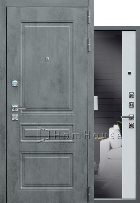 Входная дверь Лира с зеркалом