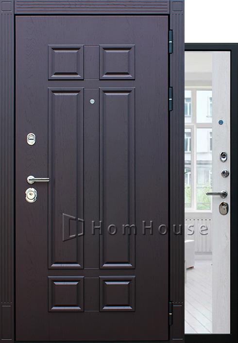 Входная дверь Виват с зеркалом