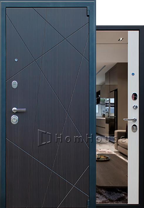 Входная дверь Вектор с зеркалом