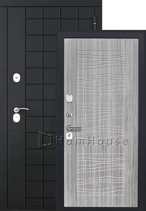 Входная дверь Luxor-36 (дуб с пилением)