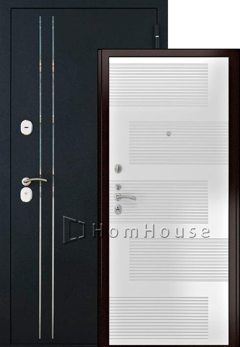 Входная дверь Luxor-37 (ясень белый)