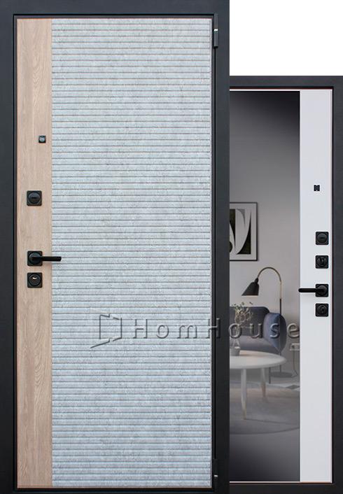 Входная дверь Дельта с зеркалом